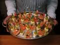 Käse-Lachs-Häppchen